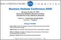 Business Outlook Conference invitation - inside