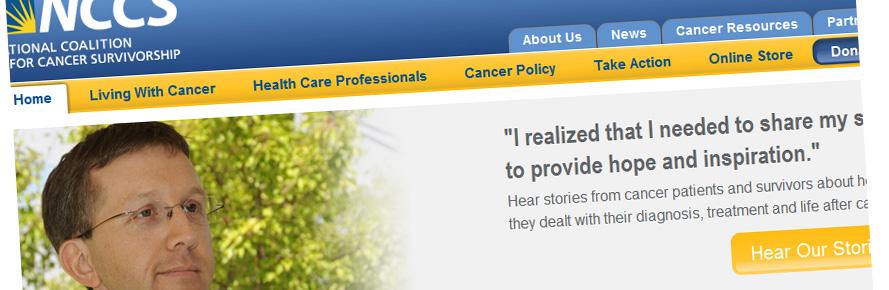 NCCS website redesign